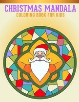 Christmas Mandala Coloring Book For kids