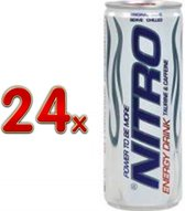 Nitro Energy Drink 24x250 ml blik - 50% Goedkoper Energy drink - Drank