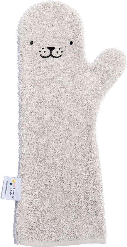 Afbeelding van Baby Shower Glove Seal grijs