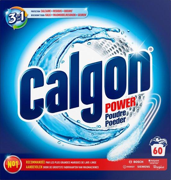 Calgon 3 in 1 Power Poeder Wasmachine Reiniger en Anti kalk - 60 Doseringen