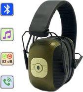 Koppel & Go - Active Headset H3 + Case - Telefoneren/Muziek via Bluetooth - Conform richtlijn 89/686/EEC - Bescherming tegen geluiden > 82dB