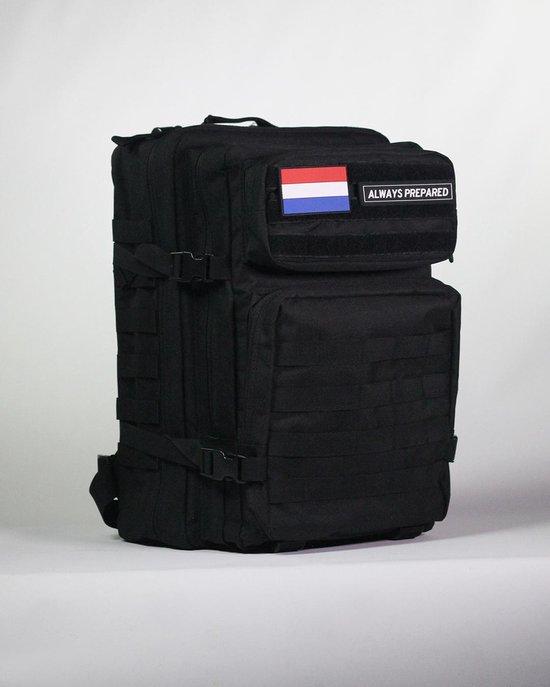 Always Prepared - Backpack - Zwart