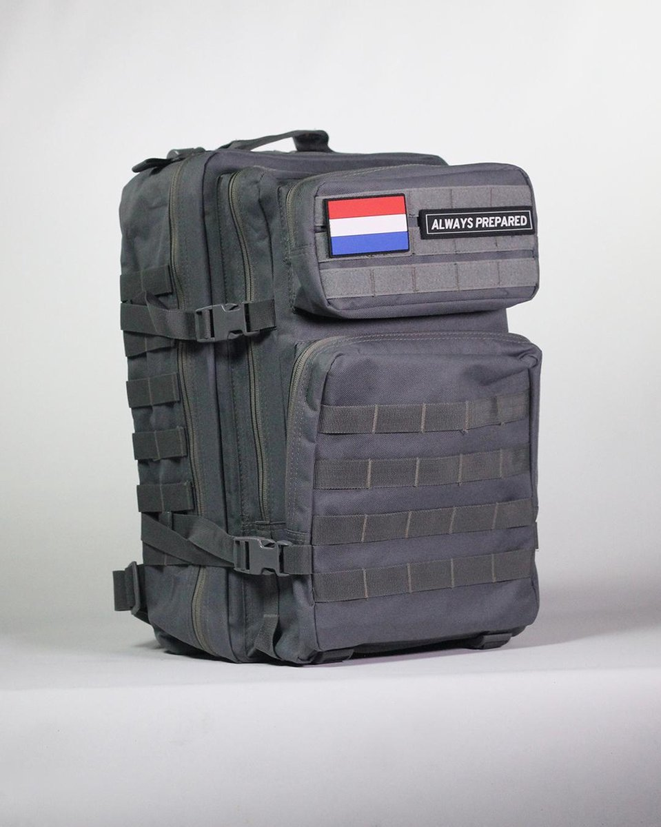 Always Prepared Tactical Backpack - Rugzak - Grey Warrior - 45 Liter