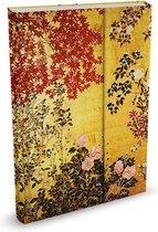 Peter Pauper Notitieboek - Japanese Screen - met magneetsluiting
