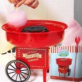 MikaMax Suikerspinmachine - Suikerspinmachines - Suikerspin suiker - Cotton Candy machine - 30 cm x 30 cm x 25 cm