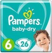 Pampers Baby Dry Maat 6 - 26 Luiers