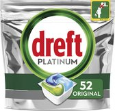 Dreft Platinum All In One Regular - 52 stuks - Vaatwastabletten