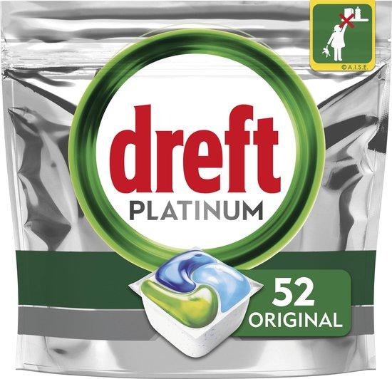 Dreft Platinum All In One Regular - 52 stuks - Vaatwastabletten