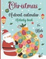 Christmas Advent Calendar Activity Book For Kids