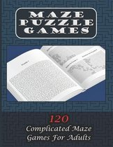 Maze Puzzle Games 120 Complicated Maze Games For Adults