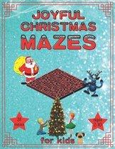 Joyful Christmas Mazes for Kids