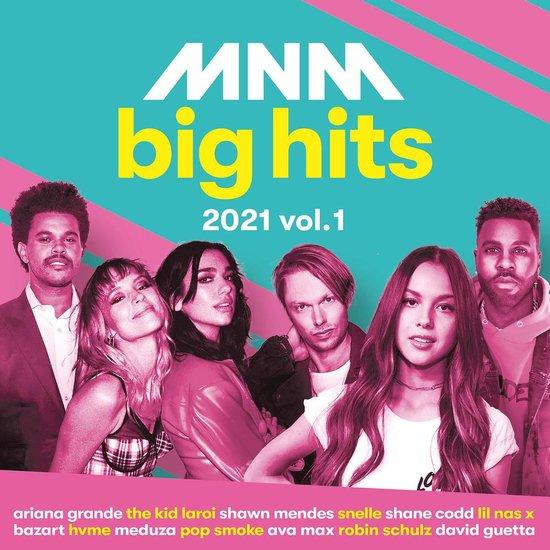 CD cover van Mnm Big Hits 2021 Vol. 1 van MNM