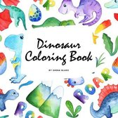 The Scientifically Accurate Dinosaur Coloring Book for Children (8.5x8.5 Coloring Book / Activity Book)