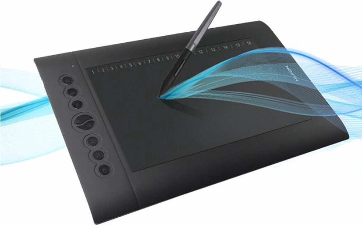 Dexters® Tekentablet | Grafische Tablet | Drawing Tablet | Tekenen | 8192 Niveaus