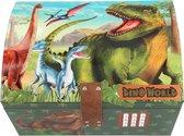 Dino World schatkist met code
