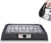 Aigostar Lava 30LDQ - Elektrische Grill - BBQ -  Tafel Barbecue - 50 x 34 cm - 2000 Watt