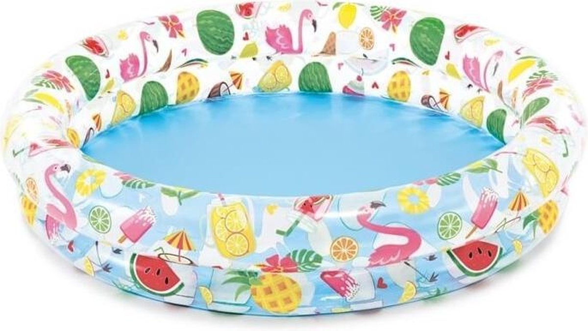Intex Opblaaszwembad Just So Fruity 122 X 25 Cm Multicolor
