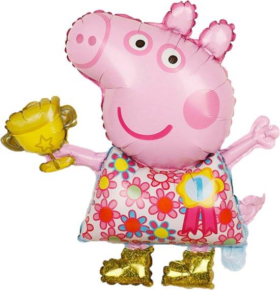 Peppa Pig Ballon - 67 x 55 cm - Verjaardag Versiering - Helium Ballonnen - Peppa Pig Speelgoed