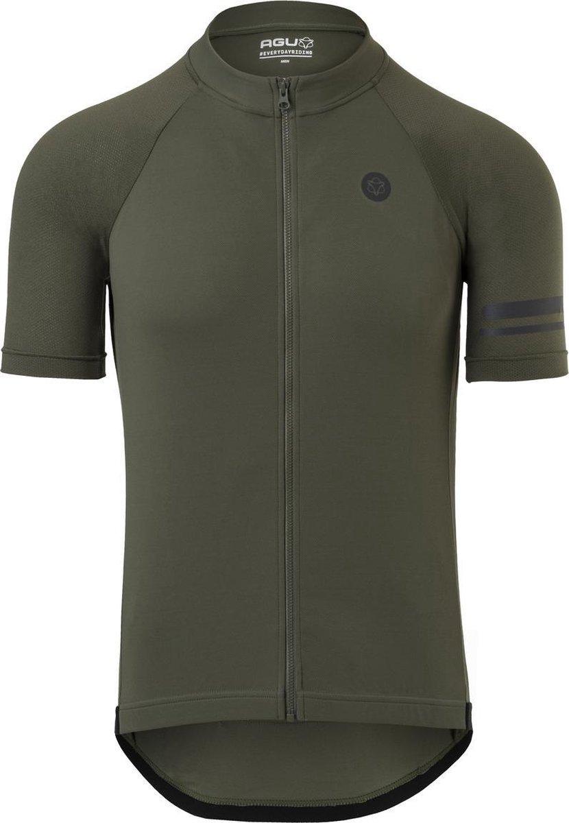 AGU Core Fietsshirt Essential Heren - Groen - L