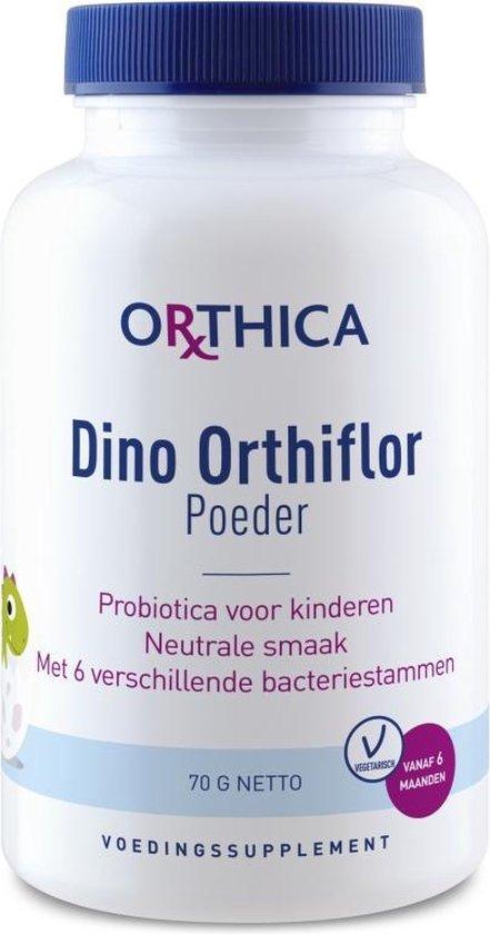 Orthica Dino Orthiflor - Poeder Probiotica Voor Kinderen - 70 Gram
