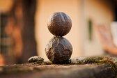 Moqui Marbles - Sjamaan stenen - met echtheidscertificaat - sjamanic stones in medicijnzakje