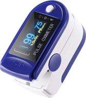 Zuurstof en hartslagmeter - Saturatiemeter - Zwart