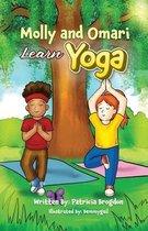 Molly and Omari Learn Yoga (Black & White Interior)