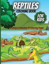 Reptiles Coloring Book