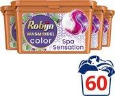 Robijn Spa Sensation 3 in 1 Wascapsules - 4 x 15 wasbeurten - Voordeelverpakking