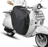 Scooter Beenkleed Universeel - Met Gratis Opbergtas - Geschikt Voor Alle Scooters o.a. - Zip - Vespa - Sym - Piaggio - Neo - People S - Beenwarmer Deken - Zwart