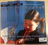 Boek cover Meervoudige intelligentie Deel 1, 2 en 3 van Spencer Kagan (Hardcover)