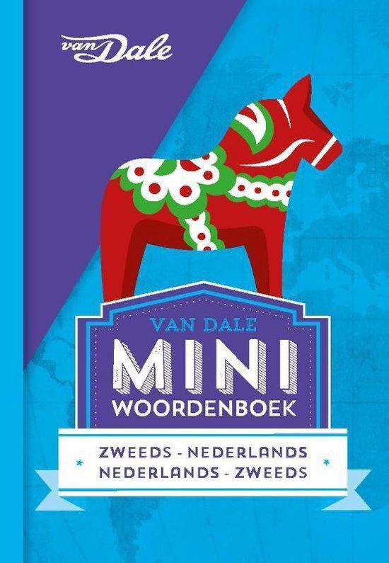 Boek cover Van Dale Miniwoordenboek Zweeds van  (Paperback)