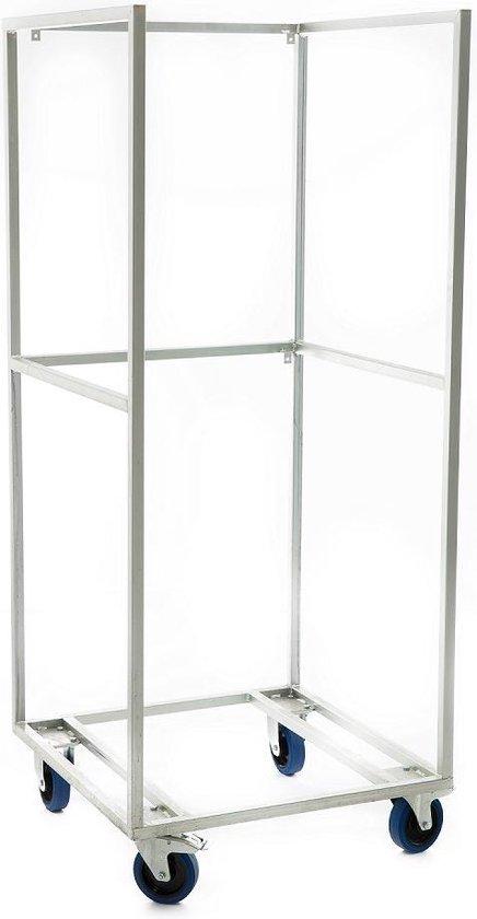 Koelkast: Cooldura Set Drankenkoelkast + Transportkar - Model C4L-I met glazen deuren - 347 L, van het merk Cooldura