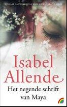 Omslag Het negende schrift van Maya - Isabel Allende