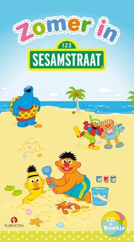 Cover van het boek 'Zomer In Sesamstraat'