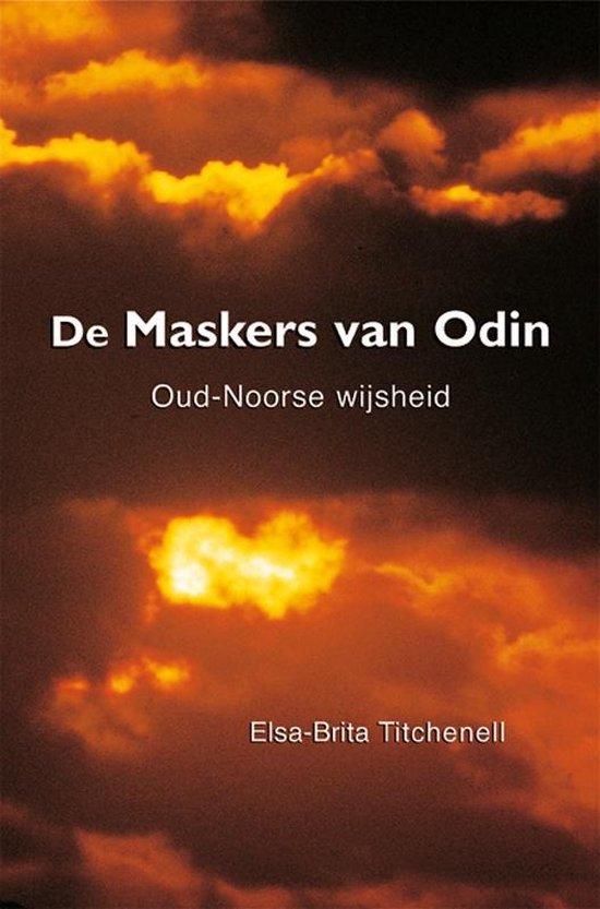 Cover van het boek 'De Maskers van Odin' van Elsa-Brita Titchenell