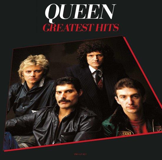 CD cover van Greatest Hits (LP) van Queen
