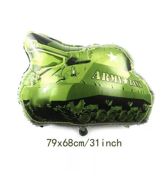 Ballon Tank leger, 79x68cm kindercrea