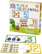 Rupsje Nooitgenoeg telspel - educatief spel
