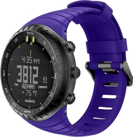 Suunto Core Horlogebandje Bandje Polsband Siliconen - Paars