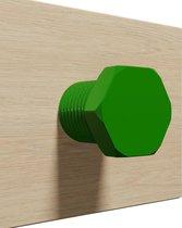 Koptelefoon houder Bout - 3D print - Green
