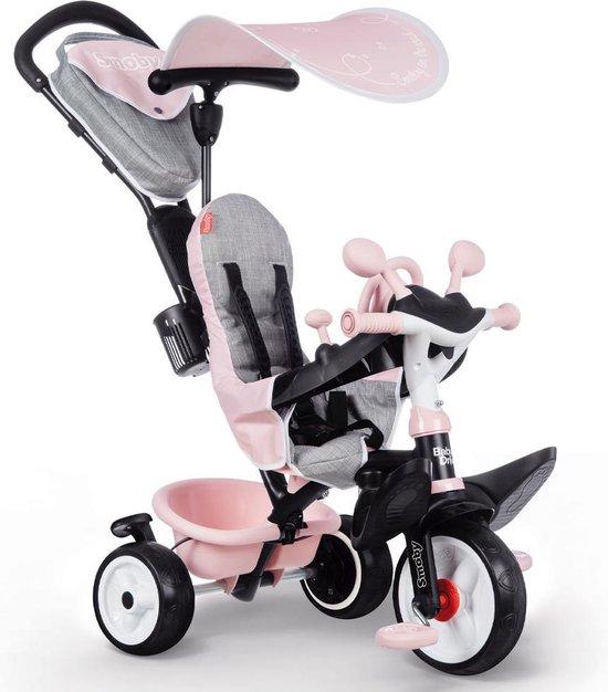 Baby Driver Plus - Driewieler - Roze