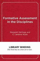 Formative Assessment in the Disciplines