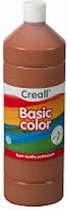Creall plakkaatverf Basic Color 500ml - Bruin