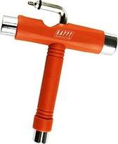 Happy products Skate tool - T-tool - Oranje - Geschikt voor alle skateboards