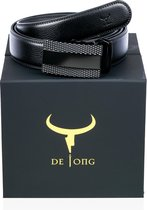 Riemen heren zwart - riemen heren - riemen heren automatische gesp - cadeau voor man - hoge kwaliteit Nederlands koe leer