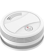 Slimme Rookmelder - Melding via app - 95Db sirene - Smart Home - Voldoet aan EU EN14604 vereisten