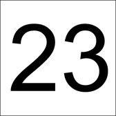 Huisnummerbordjes - naambordje voordeur - 9 verschillende afmetingen met dezelfde prijs! -10 verschillende kleuren - 5x5 - 6x6 - 8x8 - 10x10 - 12x12 - 6x4 - 8x5 - 10x6 en 12x8cm