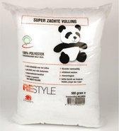 Panda vulling Restyle - Kussenvulling / knuffelvulling wasbaar - 500 gram - 1stuks