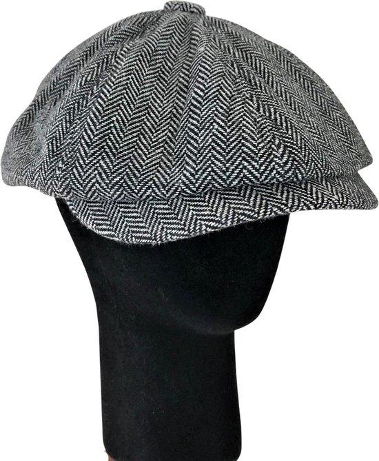 Flat Cap, New boy's cap, Peaky Blinders Petje, Cap, Krantenjongen, Hat, Stijlvol, Klasse, Paperboy cap, Tijdloos